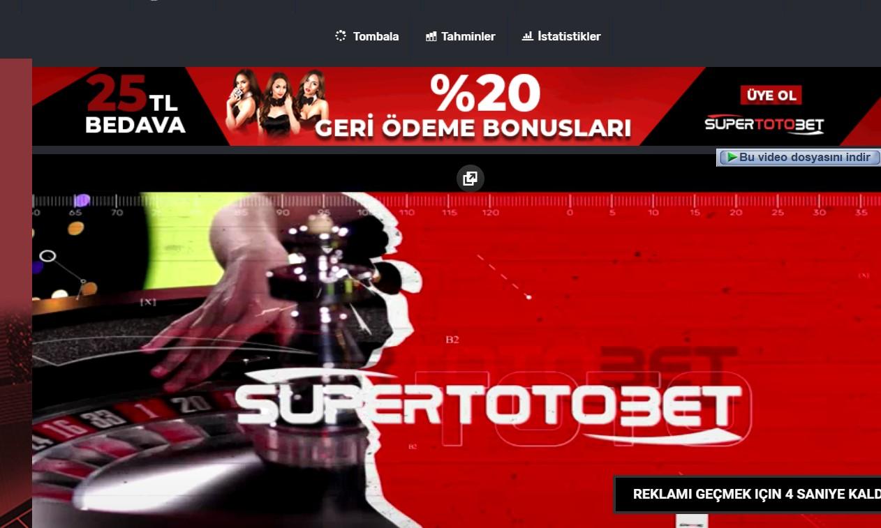 Supertotobet Canl\u0131 TV \u0130zle - Supertotobet Vip